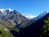 View From Namche