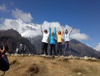 Namche-view-point
