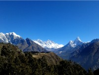 View from Everest Hotel
