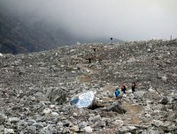 Langtang village after Earthquake