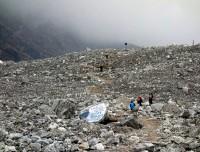 Langtang village after Earthquake