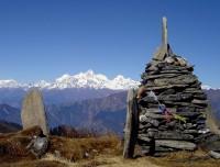 Mountain with Stupa