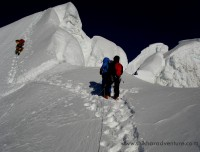 Close to summit