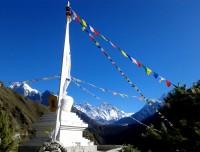 Stupa on the way