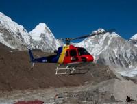 Landing at Gorekshep