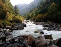 Tamor River on the way