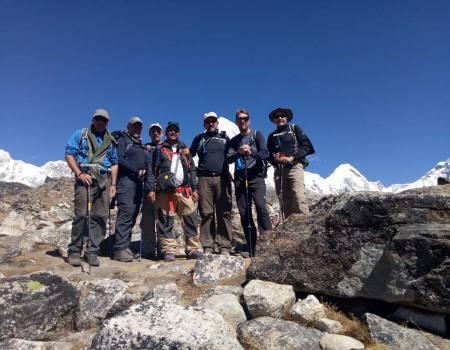 Everest base camp helicopter Trekking