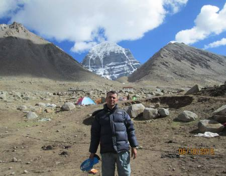 Kailash manasarovar helicopter tour